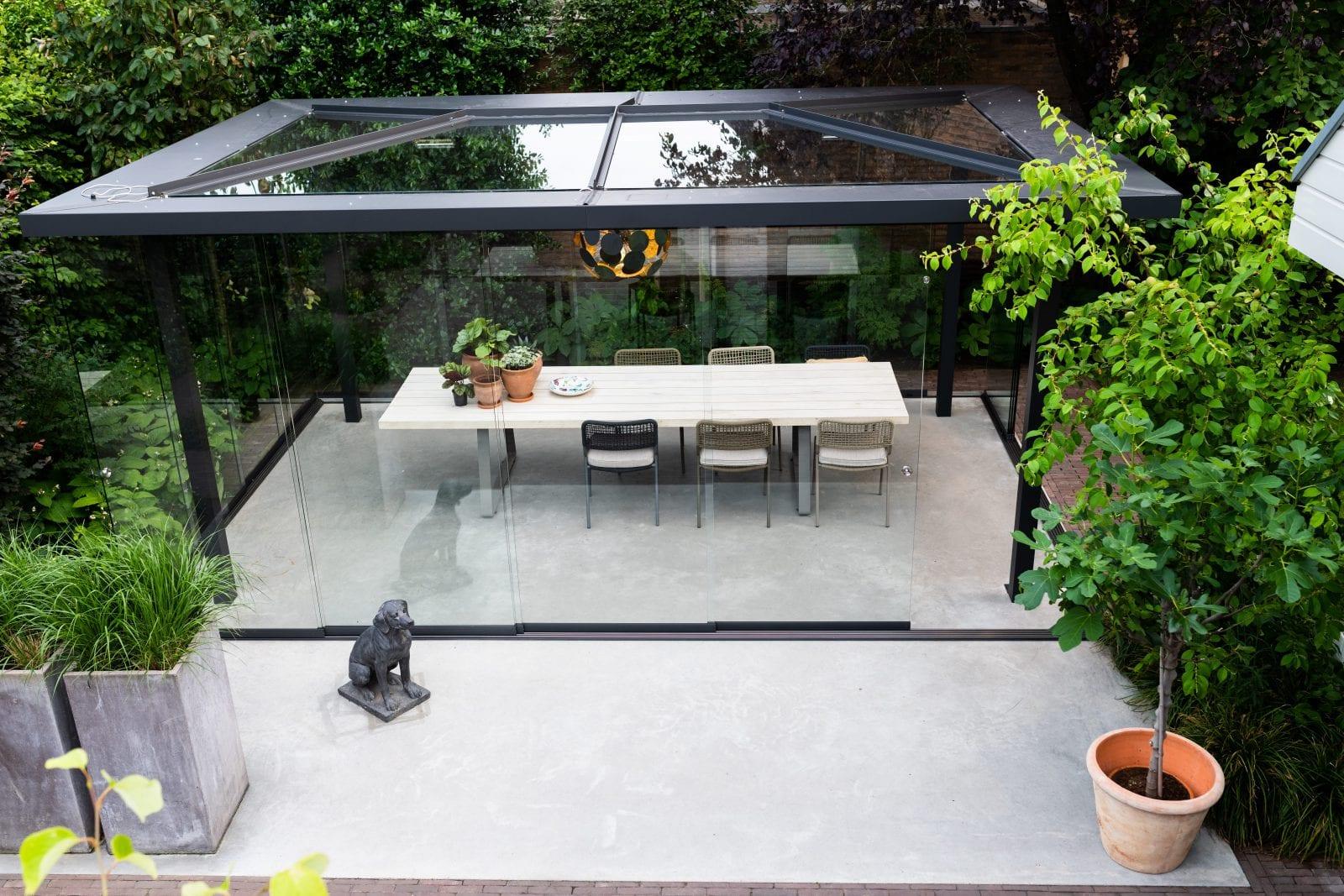 Exclusieve tuinkamer Barneveld buitenkamer