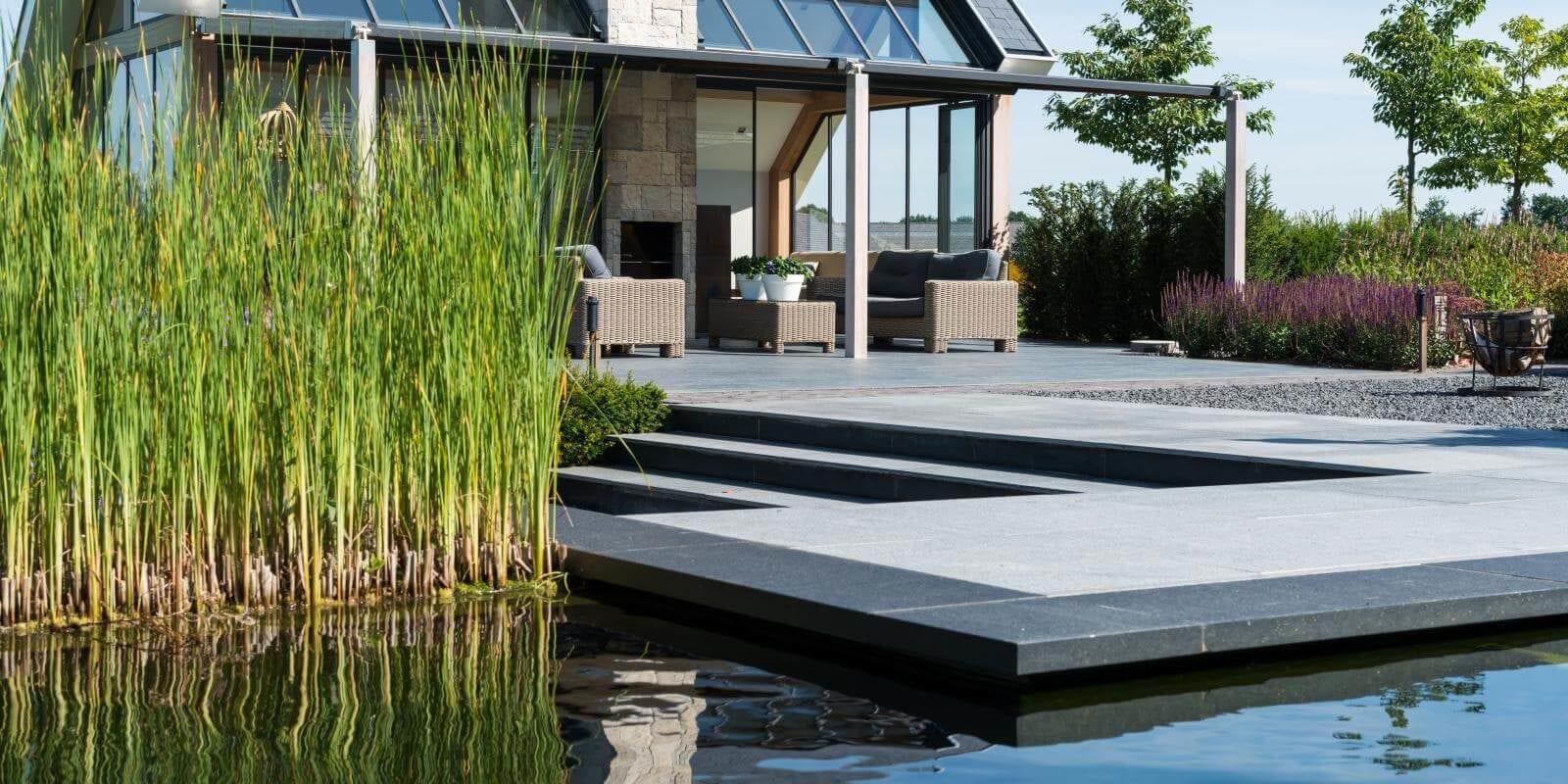 Tuinkamer poolhouse Van van Ee