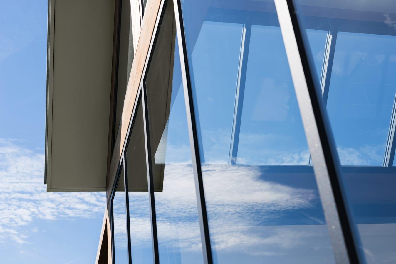 Vouwwanden glas buitenkamer