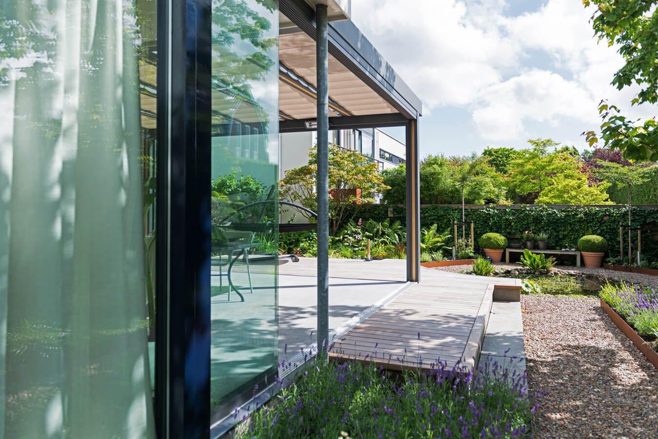 Glaswanden tuinkamer