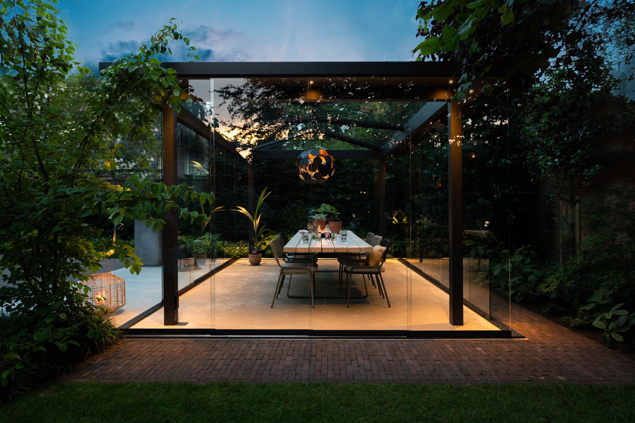 Verlichting terrasdak