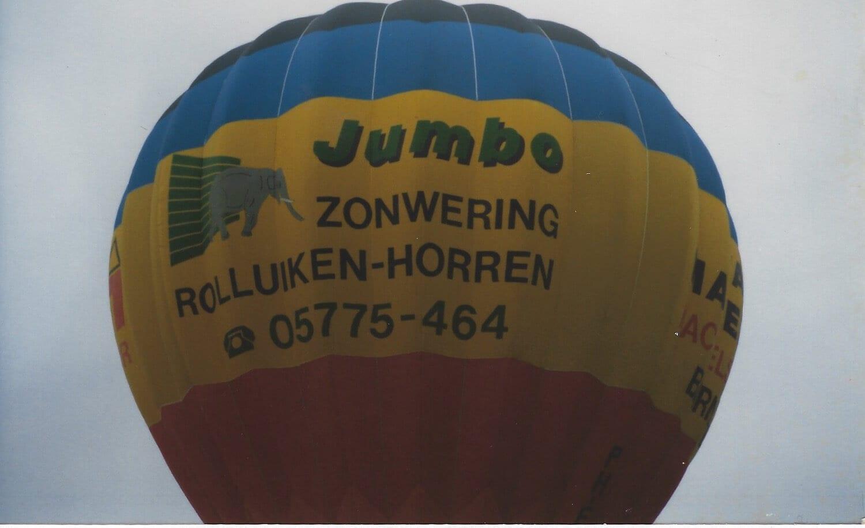 Ballon Jumbo Van van Ee